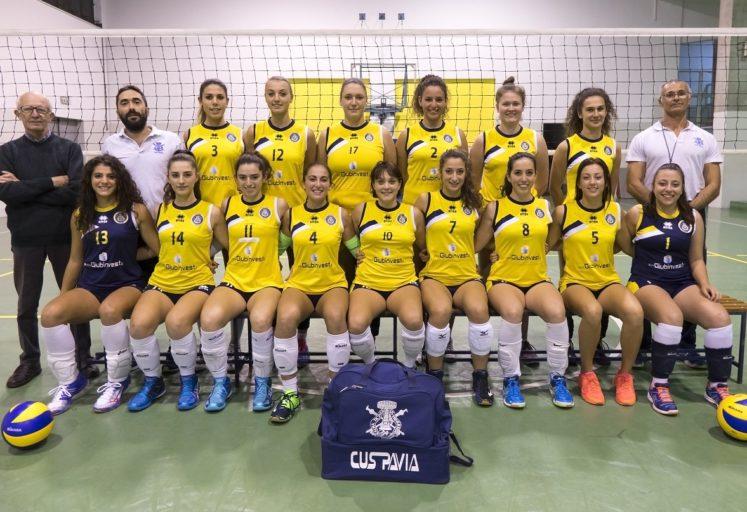 cus pavia volley femminile