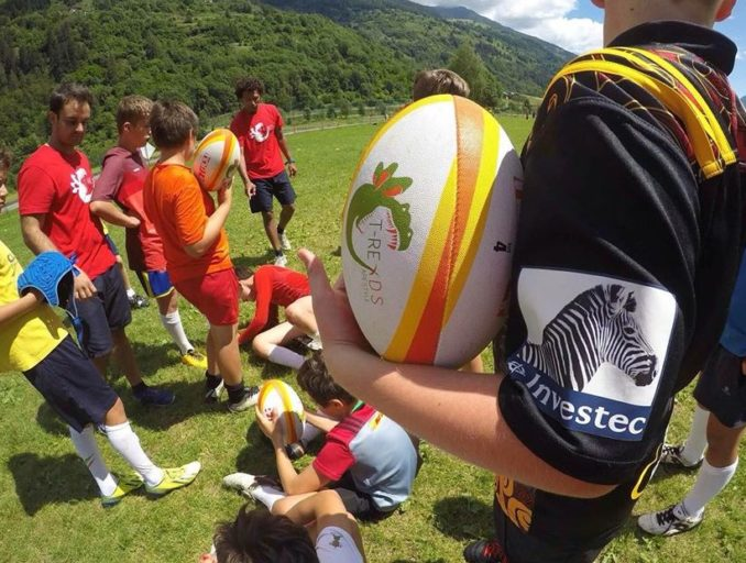 cus pavia rugby t-reds