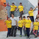 Oro per Anastasia: la terza gara dei ragazzi di arrampicata