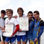 Quattro medaglie per la sezione canoa ai tricolori di fondo