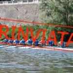 Regata Universitaria Pavia-Pisa: rinviata a data da destinarsi