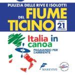 Pagaiando per l'Ambiente – Puliamo il Ticino