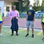 Atletica – Alice Lazzaro fa la miglior prestazione dell'anno cadette nel lancio del martello nel il primo test allenamento