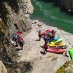 Canoa – uscita in torrente Sesia