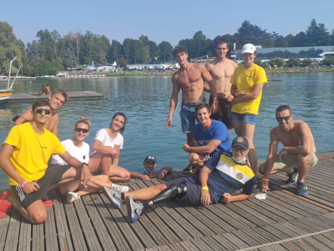 Canoa – Festa gialloblu ai Campionati italiani